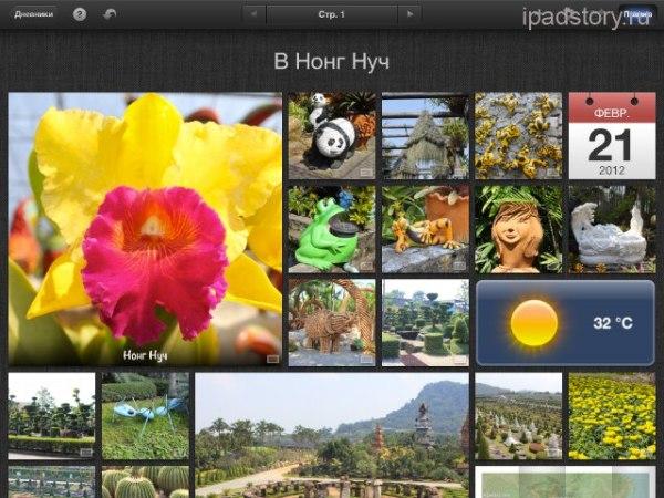iPhoto на iPad | Всё об iPad