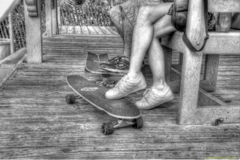 florida-skateboarders-bw-hdr