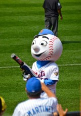 Mets Mascot At Citifield - Queens, NY 2012