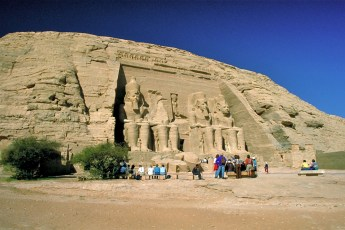 Great Temple Of Ramses II - Egypt 2011