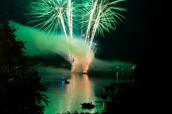 Fireworks, Navasink River, New Jersey 2010