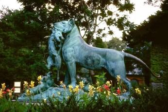Lion Statue - Central Park, NY 2011