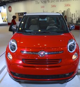 Auto Show 2013 -Red Fiat