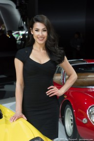 Beautiful cars and beautiful models