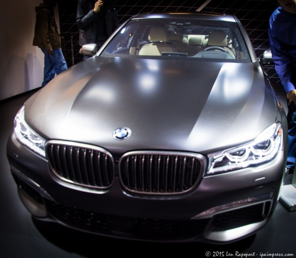 BMW 7 Series Luxury Car