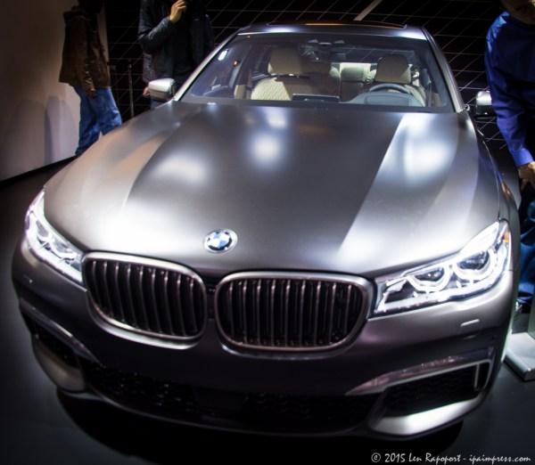 BMW 7 Series Luxury Car
