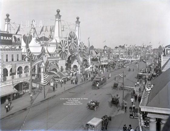 Coney Island 1800's