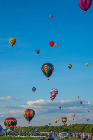 Sunday's Balloon Ascension