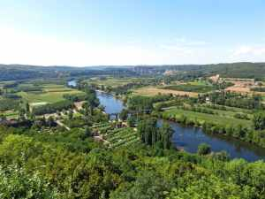 Domme, France, Perigord, Dordogne, stunning views