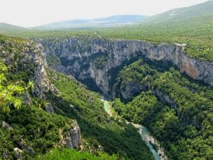 Gorges du Verdon, the Verdon River, France, canyon, sentier martel trail