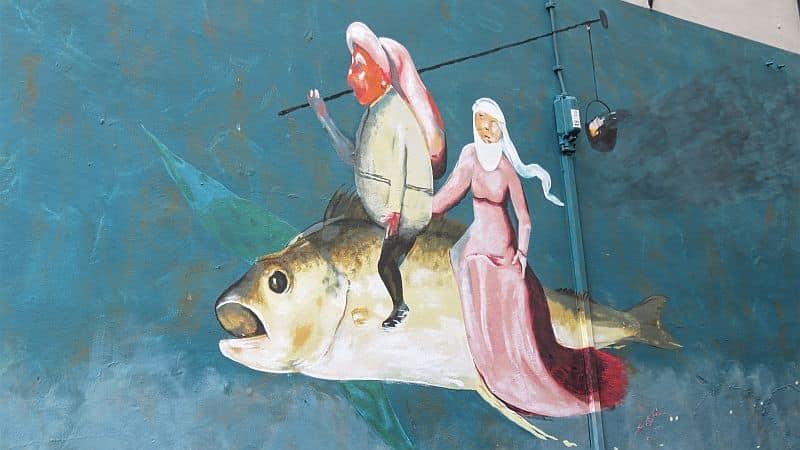 Jheronimus Bosch - Mural - Den Bosch