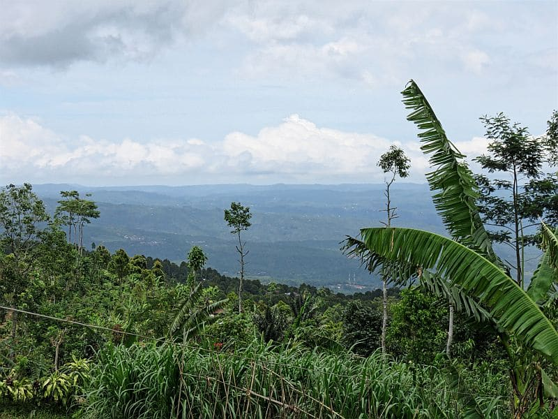 Northern Bali, Indonesia - view from the mountains