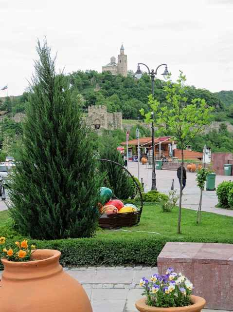 View from the square - Tsarevets - Bulgaria