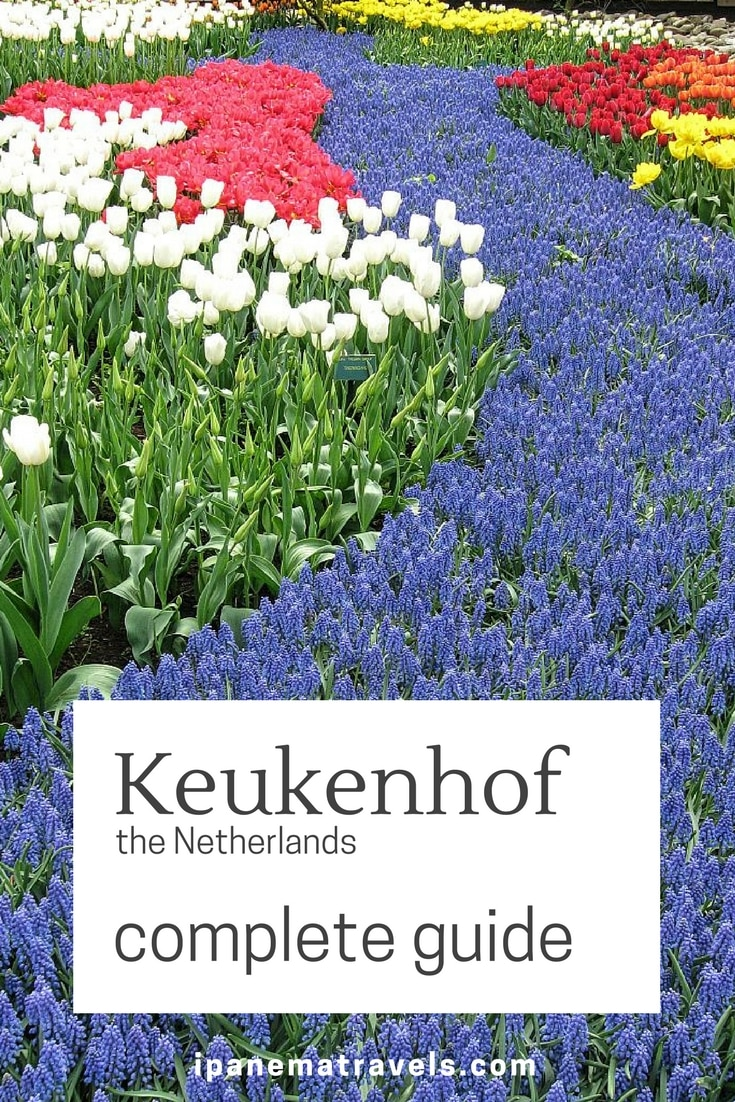 Complete travel guide to Keukenhof (Lisse), the Netherlands: reasons to visit, piratical tips and advice, background information about tulips and the tulip mania #Keukenhof #Lisse, #Netherlands #tulips #tulipgarden