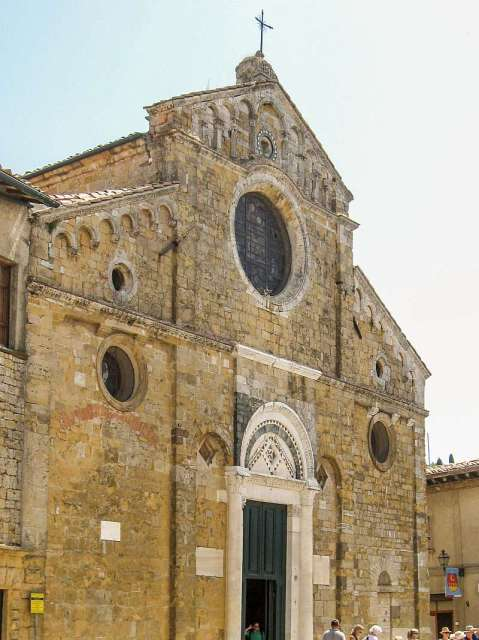 The Cathedral in Volterra, Tuscany, Italy