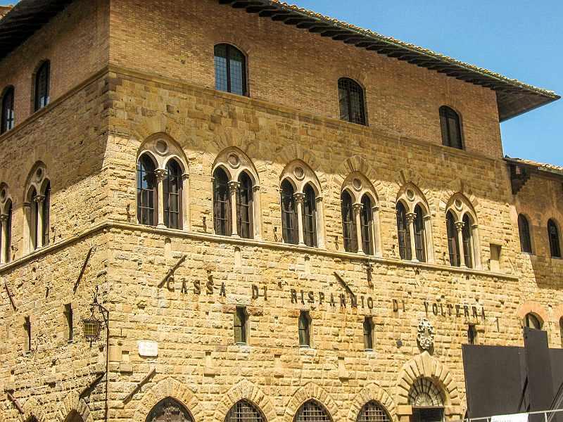 Palazzo Incontri, Volterra, Tuscany, Italy