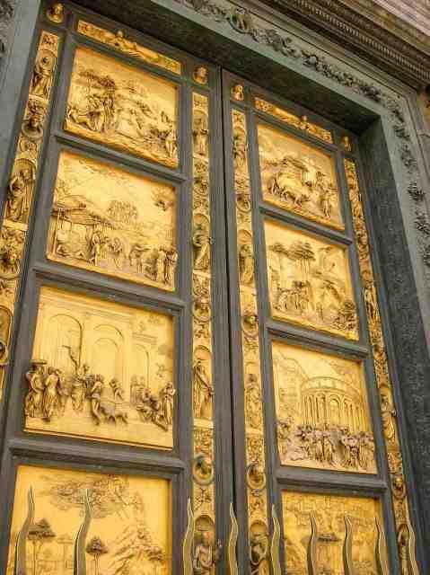 Gates of Paradise on the Baptistery