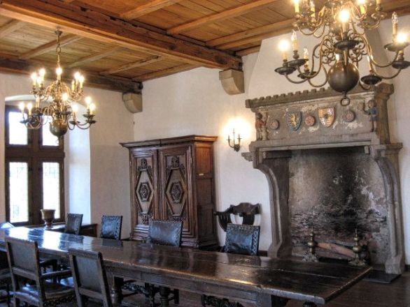 Interior of the Castle of Vianden