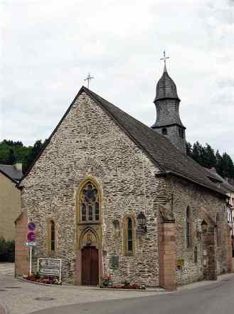 St Nicholas Church in Vianden