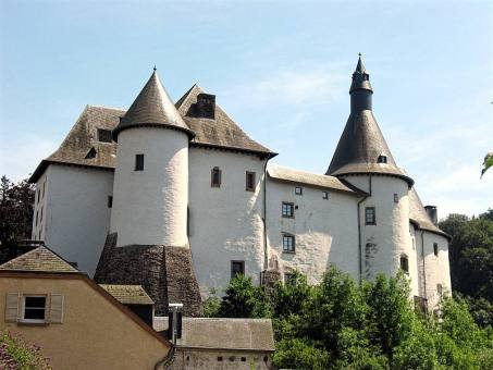 The white castle in Clervaux