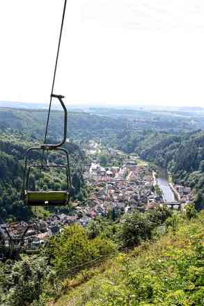 Vianden from the chairlift