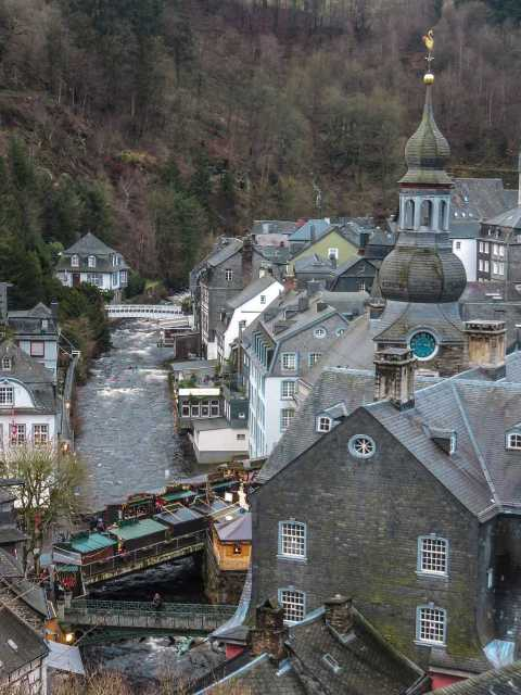 Monschau from above