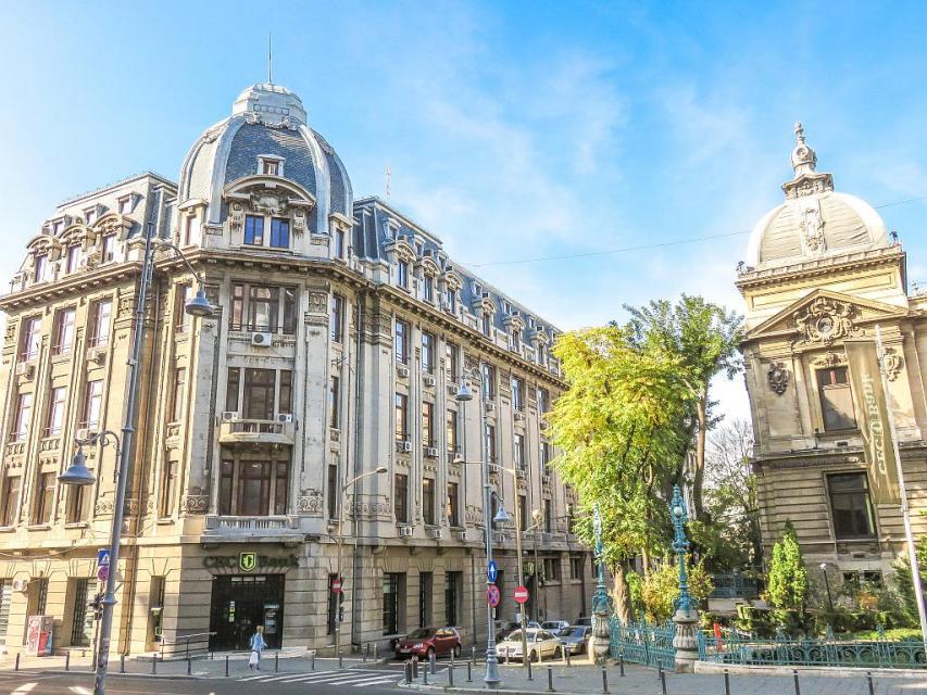 Little Paris architecture in Bucharest