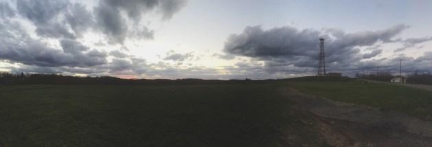 Sunset last week