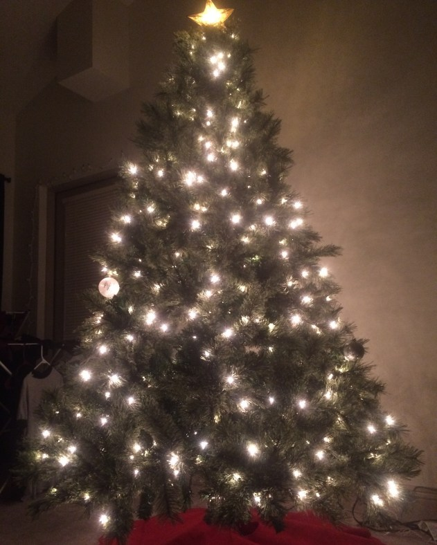 Our new Christmas tree *swoon*