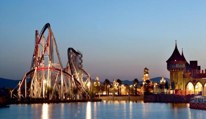 Parco divertimenti Rainbow Magicland - Roma