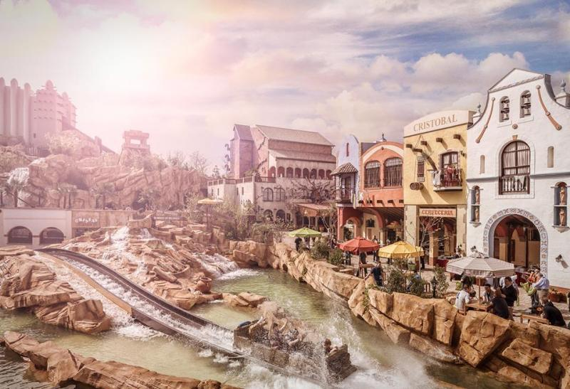 Parco divertimenti Phantasialand in Germania