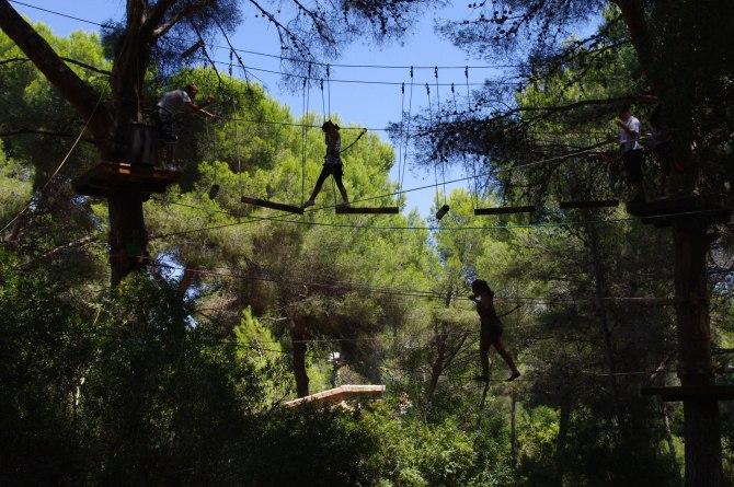 Jungle Parc il parco avventura di Maiorca