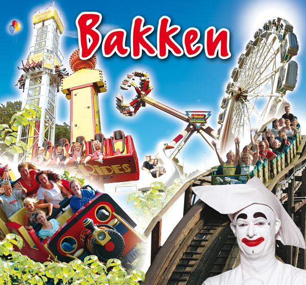 Parco divertimenti Bakken vicino Copenaghen in Danimarca