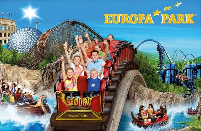 Europa Park uno dei principali parchi divertimento in Europa