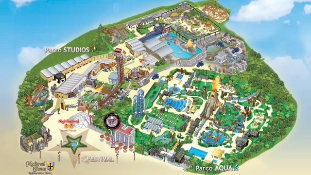 Le attrazioni di Movieland Park e Caneva Aquapark