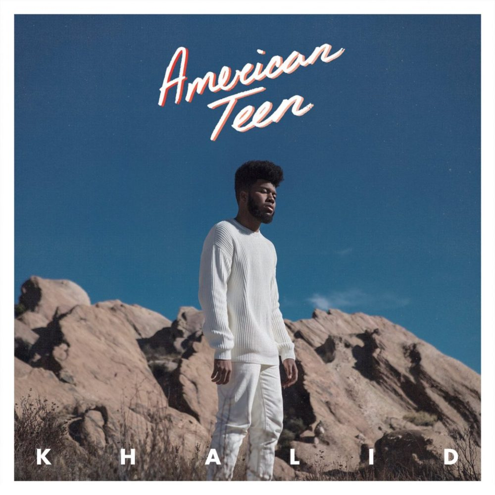 "Album art for Khalid's ""American Teen"""