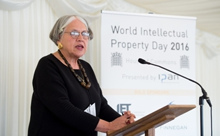 Professor Ruth Soetendorp, Chair, Intellectual Property Awareness Network and Associate Director, Centre for IP Policy & Management, Bournemouth University and IPAN Chair, who welcomed guests and introduced the panel of invited speakers.