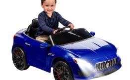 6 Volt Blue Maserati Exotic Rideon Car $99.00 Walmart Deals #deannasdeals