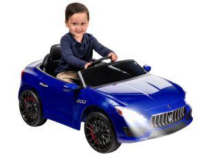 6 Volt Blue Maserati Exotic Rideon Car $99.00 Walmart Deals #deannasdeals