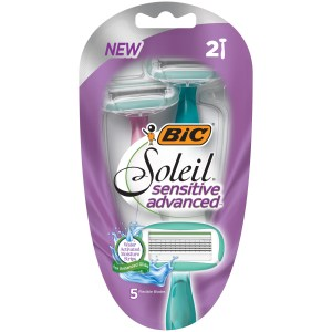$1.03 Moneymaker Bic Soleil Sensitive Advanced Razors! Walmart Deals #deannasdeals
