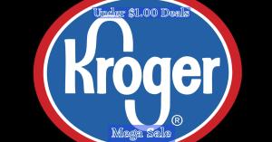 Under $1.00 Deals Kroger Mega Sale! #deannasdeals