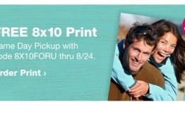 FREE 8x10 Print! Walgreens Deal #deannasdeals