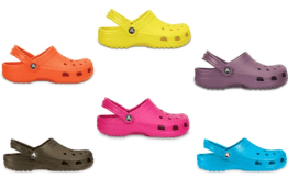 It's Croctober 50% off select styles!