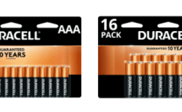 Office Depot Rewards FREE Duracell Batteries!