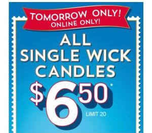 Bath & Body Works single wick sale