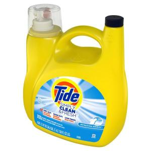 Tide Simply Clean & Fresh Liquid Laundry Detergent 138 Oz $6.00!!