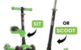 LaScoota 2-in-1 Three-Wheel Kid Scooter $39.99