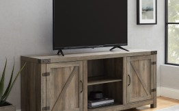 Manor Park Farmhouse Barn Door TV Stand Save $97.00!