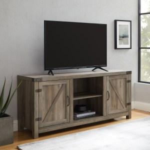 Manor Park Farmhouse Barn Door TV Stand Save $97.00!