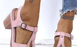 Pink T-Strap Sandal $22.99